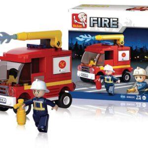 Sluban bouwblokjes alternatief voor lego kleine brandweerauto