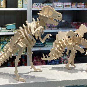 3D puzzel stegosaurus en tyrannosaurus Rex London