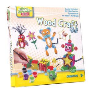 Grafix houten knutselset
