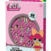 LOL Glitter stickers stickervellen in doosje