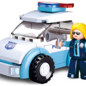 bouwset Sluban politie agente