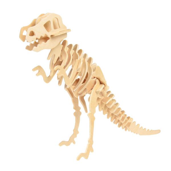 Tyrannosaurus bouwpakket van hout