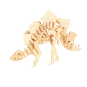 stegosaurus bouw puzzel van hout