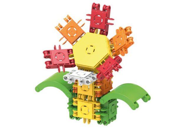 Clickformers basis set bouwspeelgoed bloem