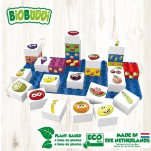 Biobuddi bouwblokjes learning food