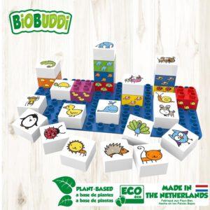 BiOBUDDi learning animals bouwblokjes