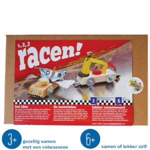 Duurzaam knutselpakket raceauto