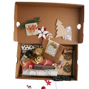 inhoud duurzaam knutselpakket droomhuis van pakje plezier