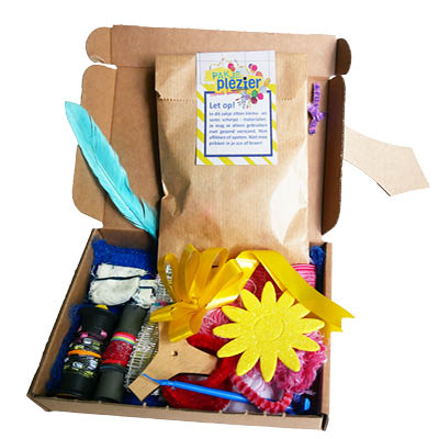 voorbeeld knutselpakket Pakje Plezier toverstaf
