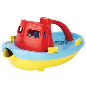 duurzaam buitenspeelgoed: Green Toys speelboot