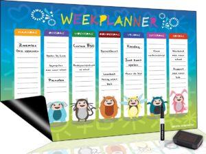 magnetisch planbord voor kinderen