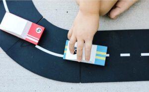 Duurzaam speelgoed way to play autobaan