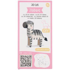3D kit zebra