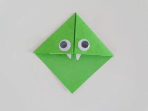 Boekenlegger origami voor kinderen