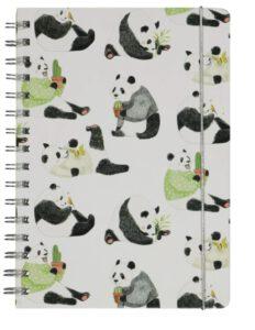 Juffenbedankje panda notitieboekje