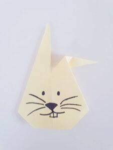 Origami voor kinderen konijn