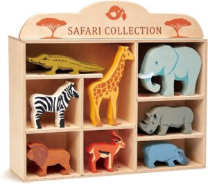 Tender Leaf Toys houten Safaridieren