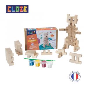 Cloze robot doos uitgestald