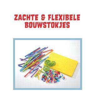 Spaghetteez flexibele knutselstaafjes voorbeeld